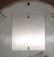 "LACKNER BACK PLATE COVER FOR 18"" ROUND CLOCK"