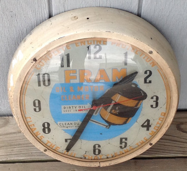 Clock example shown.  Purchase of clear domed glass only.