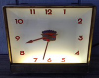 CADILLAC DEALERSHIP LIGHTED CLOCK