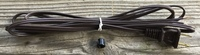 2 WIRE 8FT POWER CORD WITH GROMMET, FITS PAM, OTHER CLOCKS