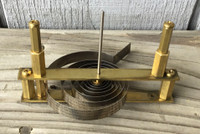 NEON THERMOMETER BRASS MOVEMENT