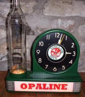 SINCLAIR OIL BOTTLE CLOCK