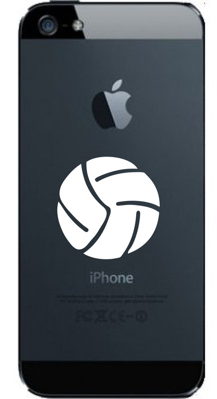 BUY NOW...SPORT THIS BALL ON YOUR CELL PHONE! Volleyball © Aloha Maui Creations