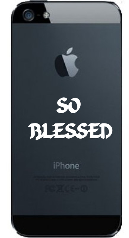 BUY NOW...TREAT YOURSELF TO THIS AWESOME CELL PHONE DECAL