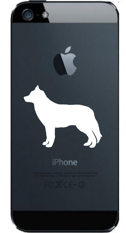 BUY NOW! SUPER SIBERIAN HUSKY CELL PHONE DECAL Siberian Husky © Aloha Maui Creations