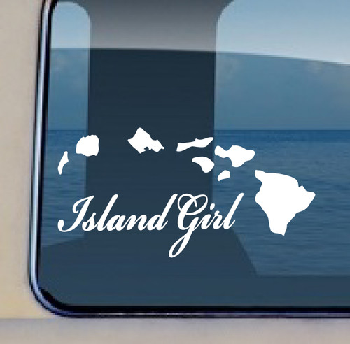 BUY NOW Free decal of the week with $10. purchase Islands Island Girl© Aloha Maui Creations