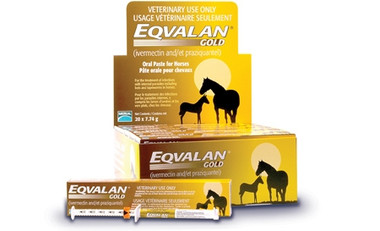 Eqvalan Dewormer Gold Oral Paste