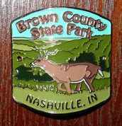 Brown County State Park Hiking Stick Medallion*