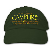 Advice from a Campfire Hat*