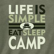 Life is Simple- Eat, Sleep, Camp*