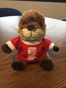River Otter Plush w/ 100 Years T-Shirt*