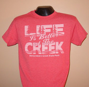 Red Life is Better at the Creek T-shirt*