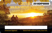 2018 Golden Hoosier Passport (permit)