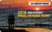 2018 Annual Non-Resident State Park Entrance Permit