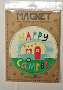 Happy Camper Magnet*