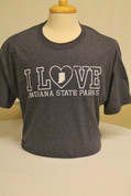 I Love Indiana State Parks Royal Heather T-Shirt*