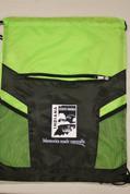 Green Drawstring Bag*