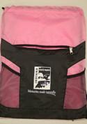 Pink Drawstring Bag*
