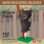 Mini-Building Blocks - Black Bear*