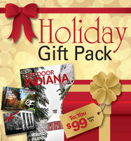 Your inn pack includes: a 2019 Annual Entrance Permit, a $65 inn gift card, and a 1 year subscription to the Outdoor Indiana Magazine.