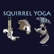 Squirrel Yoga t-shirt*