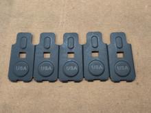 AK Floor plates laser marked USA.