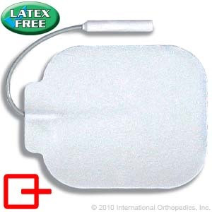 "Classic Stimulating Electrodes with Comfort Foam Construction, 2.25"" x 2"" Square"