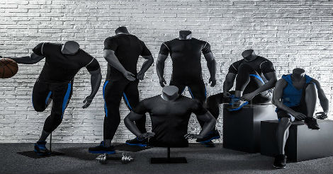 Headless Sports Mannequins