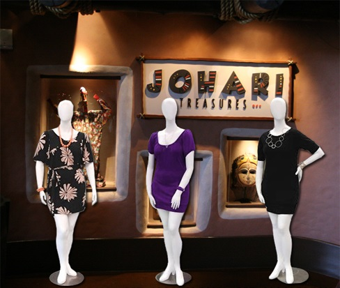 Plus Size Abstract Egg Head Female Mannequins