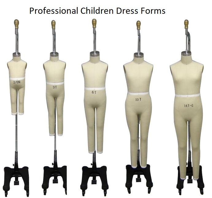 Professional Children Dress Forms