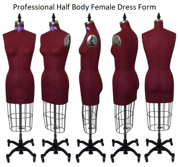 Professional Half Body Female Dress Forms