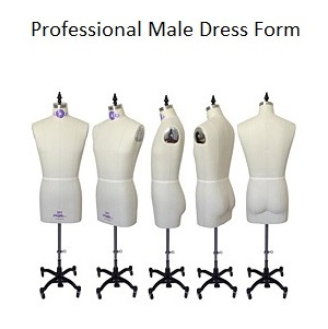 Professional Male Dress Form