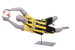 Tim Howard, Soccer Player Male Mannequin Matte Light Grey MM-CRIS05