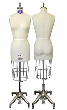 Professional Cream Dressmaker Form Sizes: 4, 6, 8, 10, 12 MM-601C
