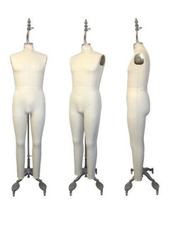 Professional Male Full Body Dress Form