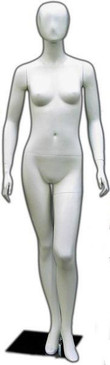 Betty, Matte White Abstract Mannequins MM-144W