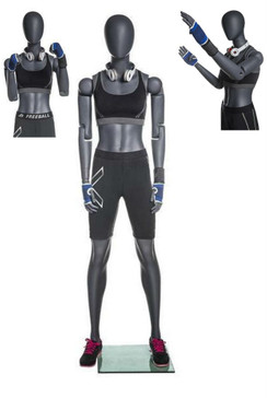 Laila , Female Poseable Athletic Mannequin MM-NI-FFXG