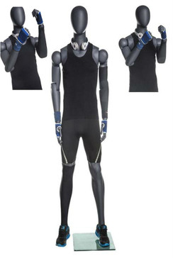 Joe, Male Poseable Athletic Sports Mannequin MM-NI-MFXG