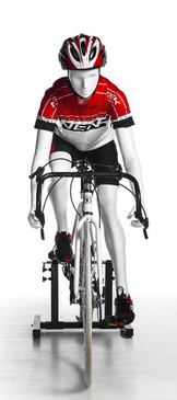 Janice, Female Bicyclist Athletic Sports Mannequin MM-BY-F02