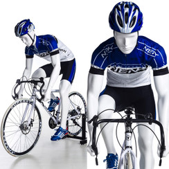 Jake, Male Bicyclist Athletic Sports Mannequin MM-BY-M02