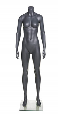 Kay, Fiberglass Athletic Headless Female Mannequin MM-NI-20