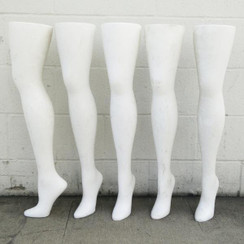 Used Freestanding Women's Hip High Hosiery Leg Display MM-AA05