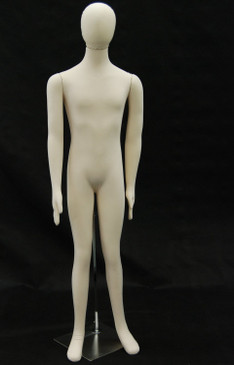 Cream Flexible Foam Male Mannequin MM-JF-M1SOFTX