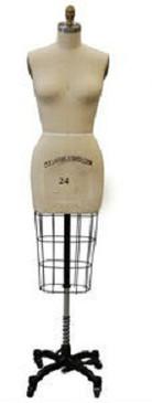 Professional Plus Size Female Half Body Dress Form Size 24 MM-601 (MM-601 SZ. 24)