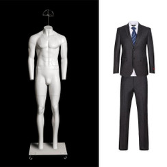 """Kyle, Fiberglass Invisible Male """"Ghost"""" Mannequin MM-GHT-ML"""