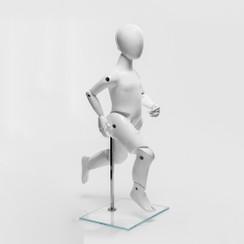 Flexible Articulated Unisex Child Mannequin Gloss White MM-KM3YWEG