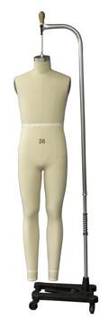 Professional Male Full Body Dress Form Sizes: 36