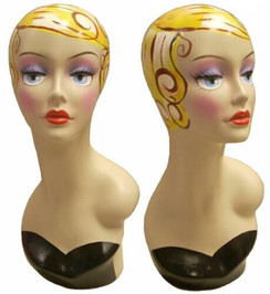 Vintage Female Display Head item # MM-VF005