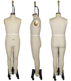 Professional Male Full Body Dress Form Sizes: 36 , 38 , 40 , 42 MM-ST-MALFULLSZ