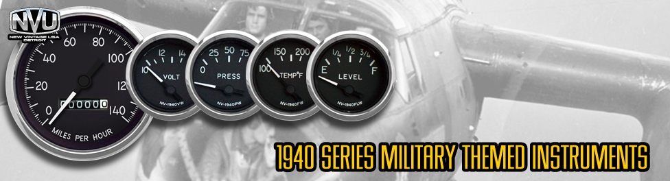 hot rod aguges bomber gauges